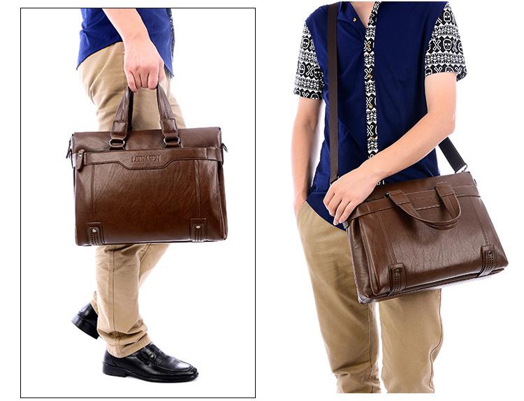 上質★メンズ ビジネス バッグ 鞄 ブリーフケース  ブラック 大容量 多機能 g-98_画像2