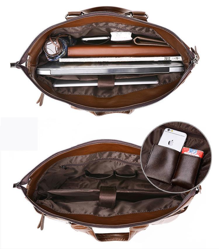 上質★メンズ ビジネス バッグ 鞄 ブリーフケース  ブラック 大容量 多機能 g-98_画像3