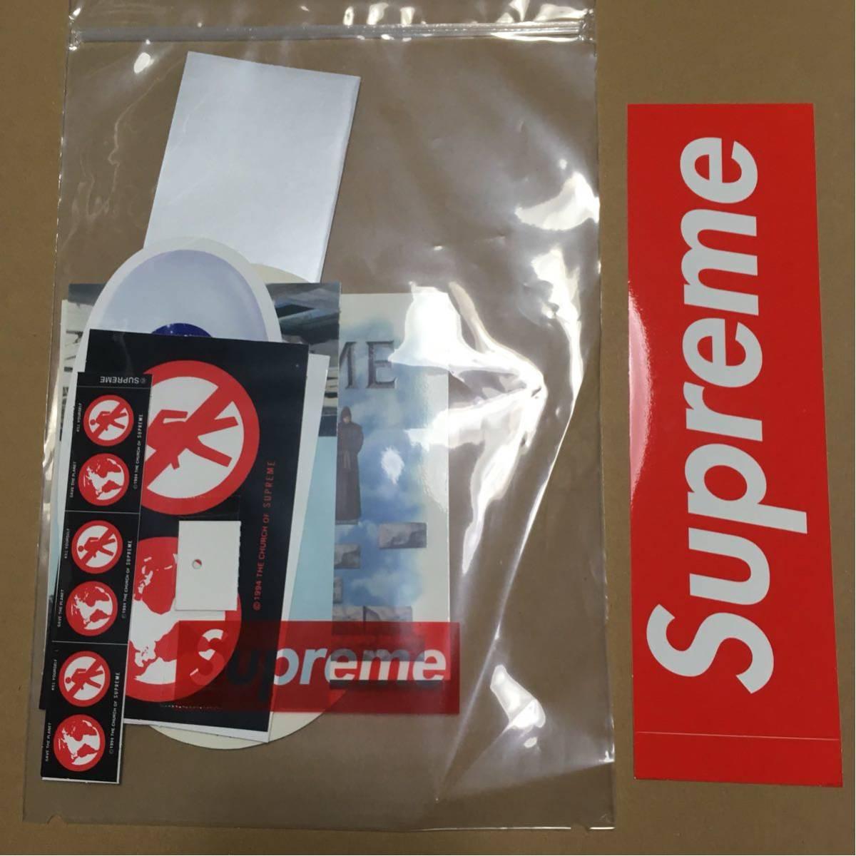 Supreme 19AW 19FW Sticker Set ステッカーセット Mary J. Blige banner box logo スクラッチ