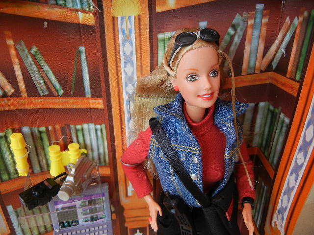 1990年製ディテクティブ探偵バービー人形未使用箱あり 検マテル Barbie90s Vintage Doll MATTEL レトロ _画像2