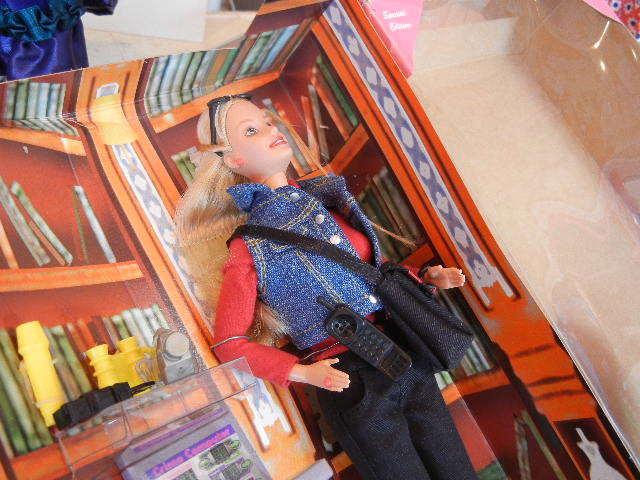 1990年製ディテクティブ探偵バービー人形未使用箱あり 検マテル Barbie90s Vintage Doll MATTEL レトロ _画像4