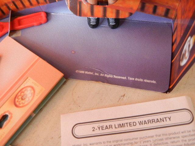 1990年製ディテクティブ探偵バービー人形未使用箱あり 検マテル Barbie90s Vintage Doll MATTEL レトロ _画像6