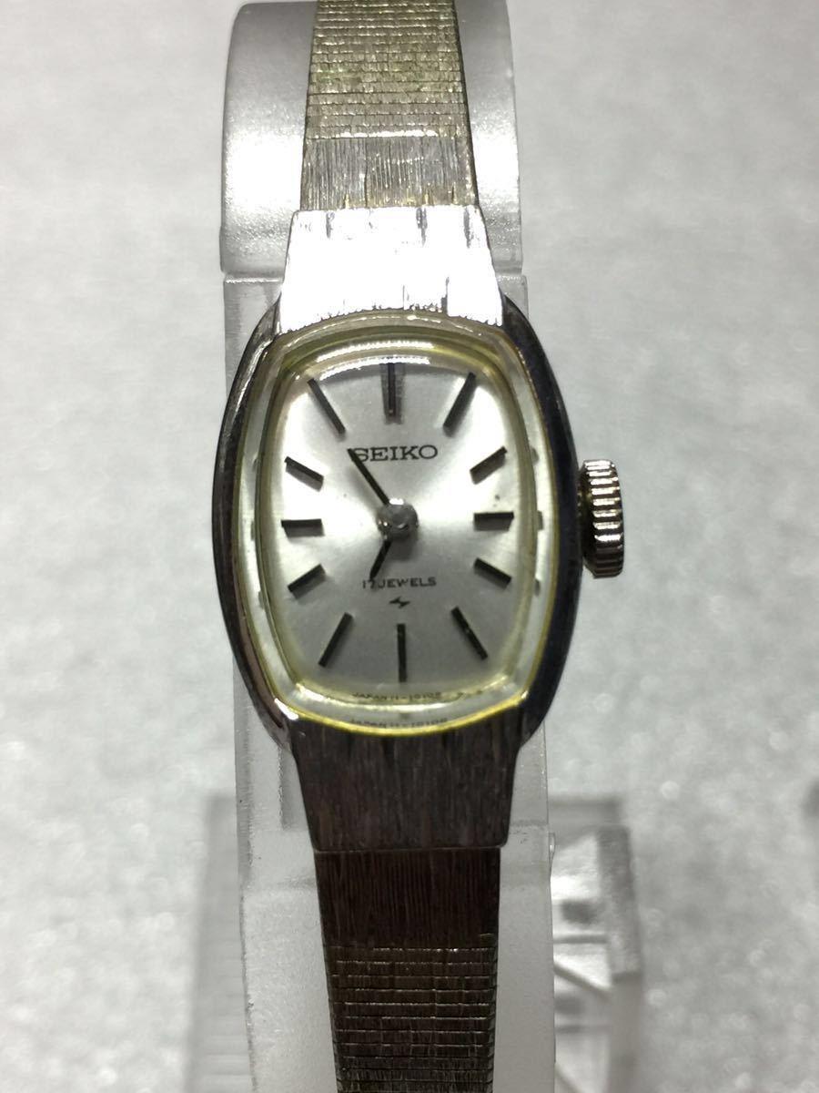 美品 腕時計 セイコー アンティーク 手巻き レディース 4点セットです。稼働ok_画像2