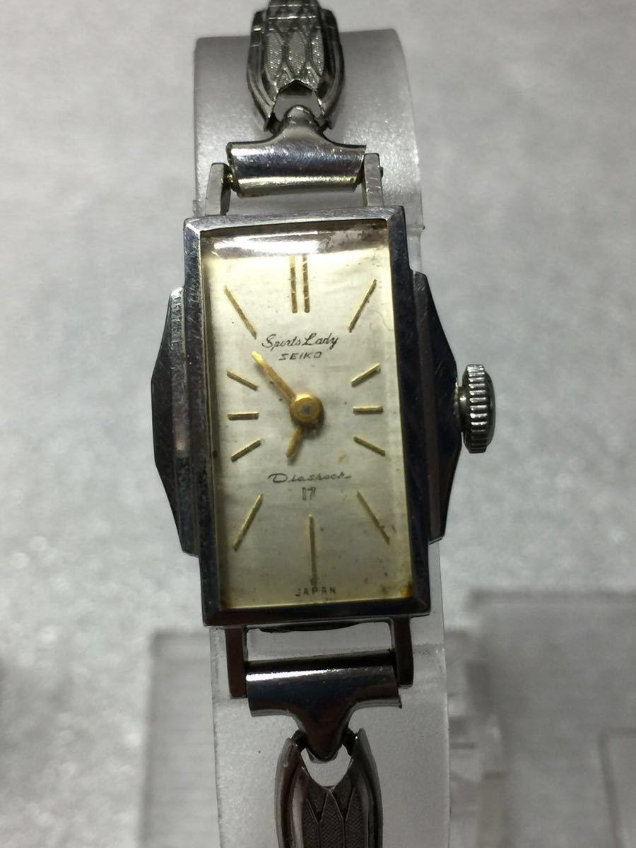 美品 腕時計 セイコー アンティーク 手巻き レディース 4点セットです。稼働ok_画像3