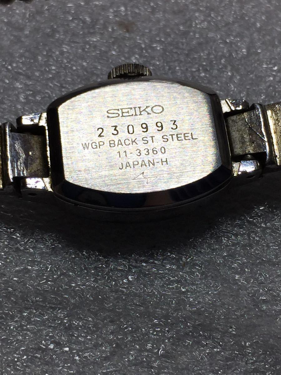 美品 腕時計 セイコー アンティーク 手巻き レディース 4点セットです。稼働ok_画像6