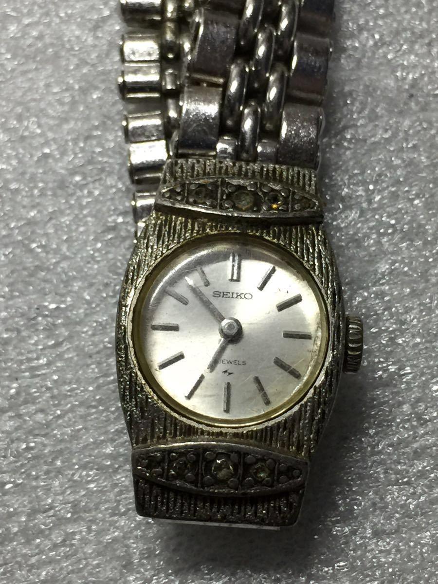 美品 腕時計 セイコー アンティーク 手巻き レディース 4点セットです。稼働ok_画像5