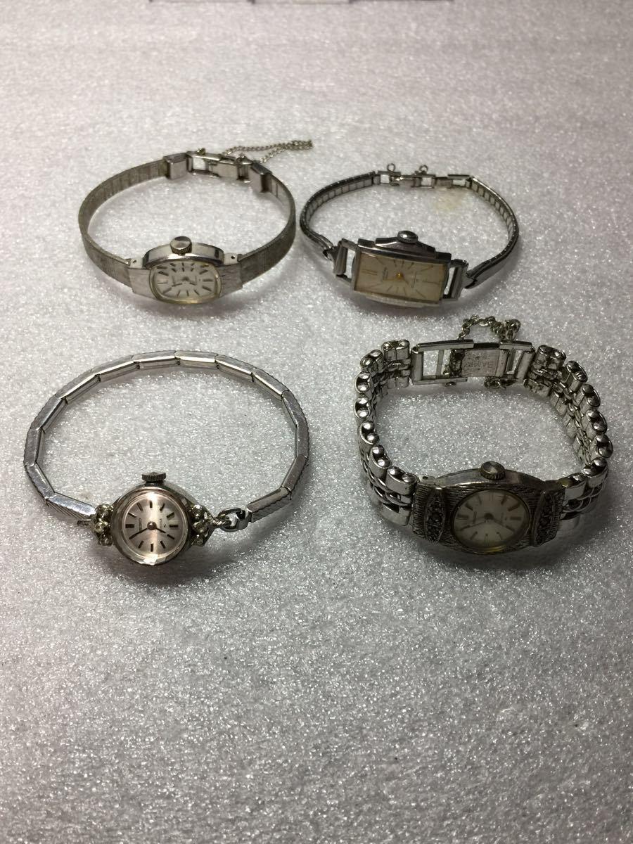 美品 腕時計 セイコー アンティーク 手巻き レディース 4点セットです。稼働ok_画像10