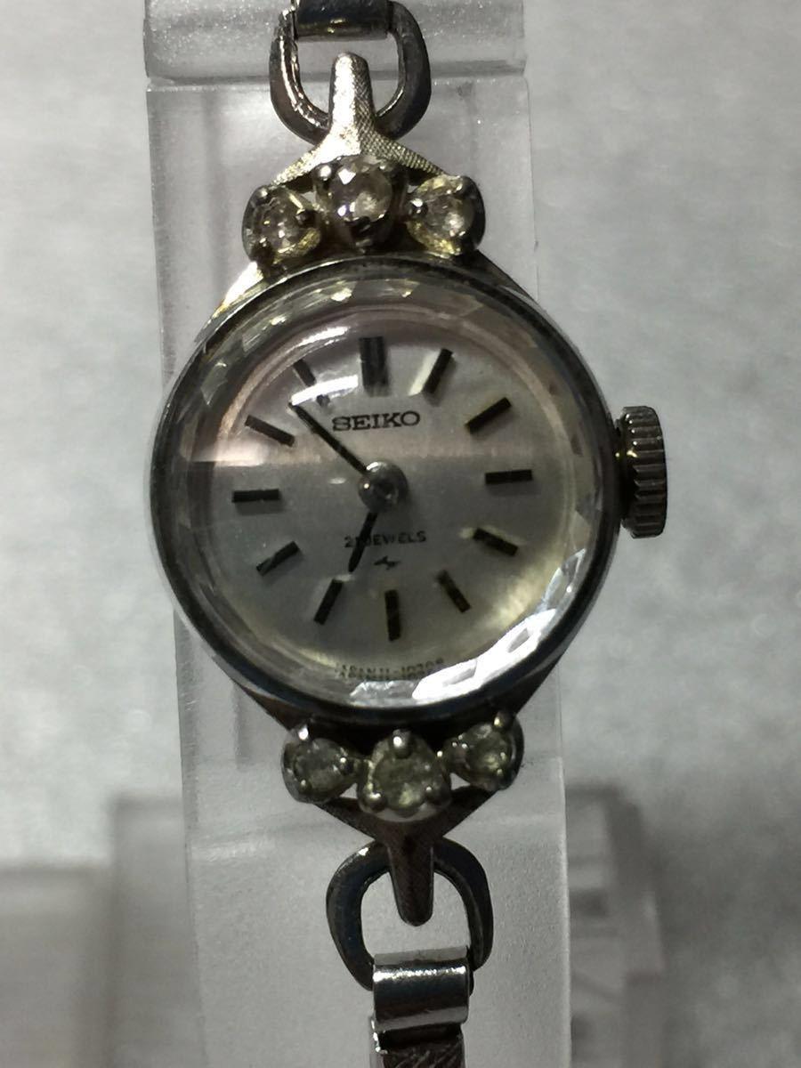美品 腕時計 セイコー アンティーク 手巻き レディース 4点セットです。稼働ok_画像4
