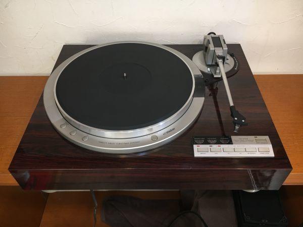 VICTOR QL-Y55F ダイレクトドライブ ターンテーブル ビクター フルオート レコードプレー