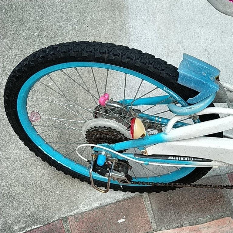 キッズ 自転車 女の子 22インチ _画像5
