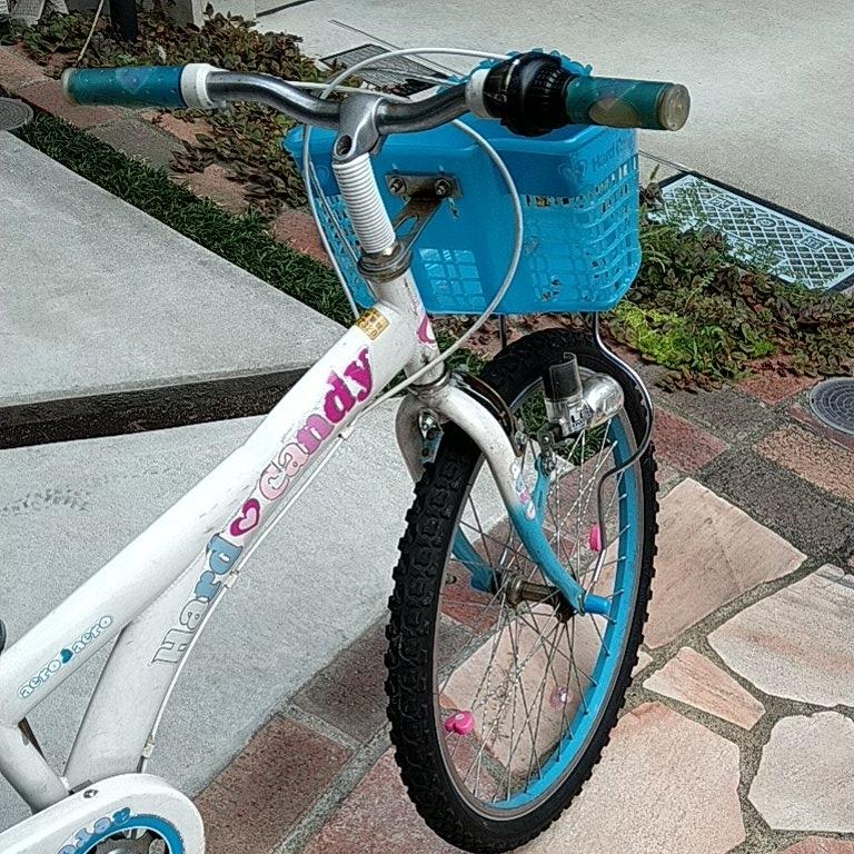 キッズ 自転車 女の子 22インチ _画像6
