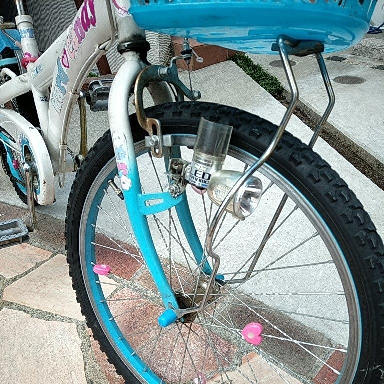 キッズ 自転車 女の子 22インチ _画像3