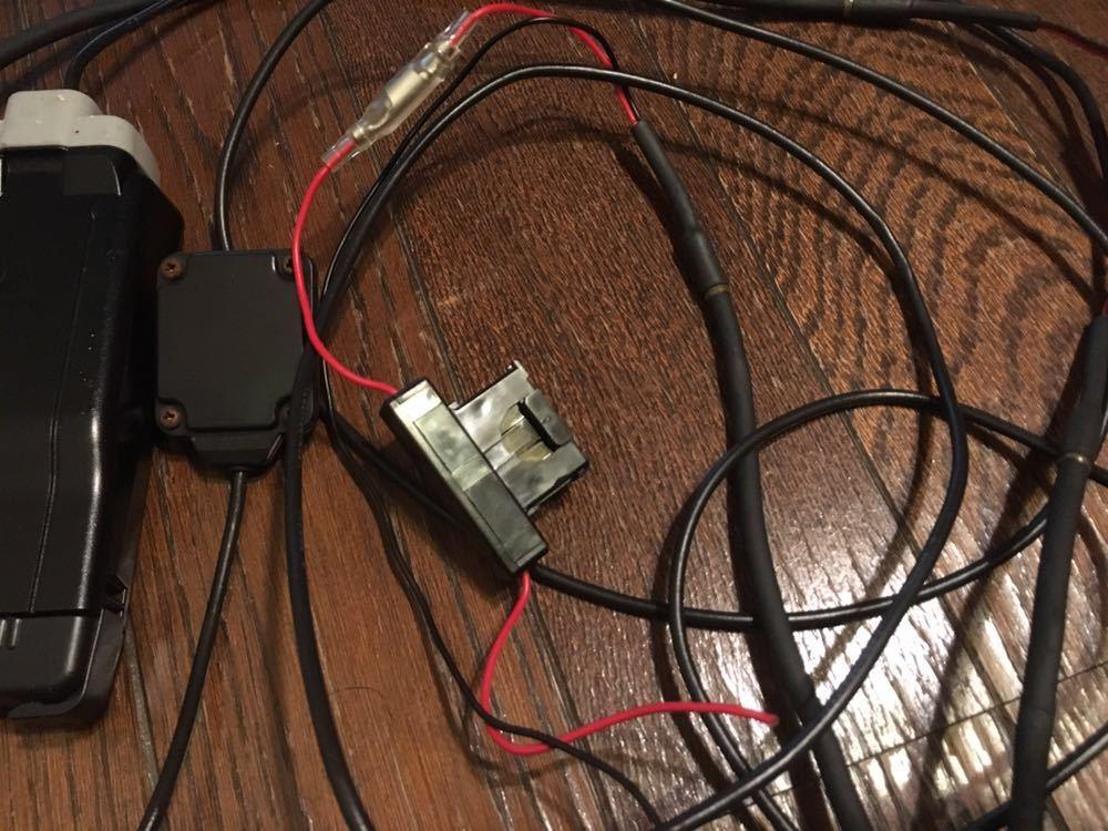バイク ETC車載器 ミツバサンコーワ 000595 別体型 MSC-BE51 動作確認品_画像2
