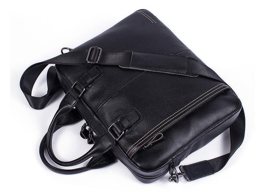 【超高級定価48万円】注目新作 新品推薦 高級牛革 本革 メンズ ビジネスバッグ ブリーフケース14PC A4対応鞄大容量書類かばん ブラック a65_画像5