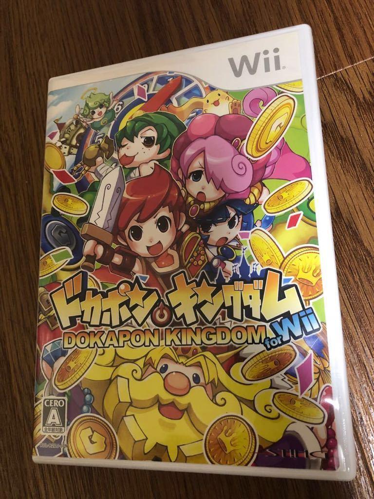Wii ドカポンキングダム for Wii 動作確認済 送料込♪