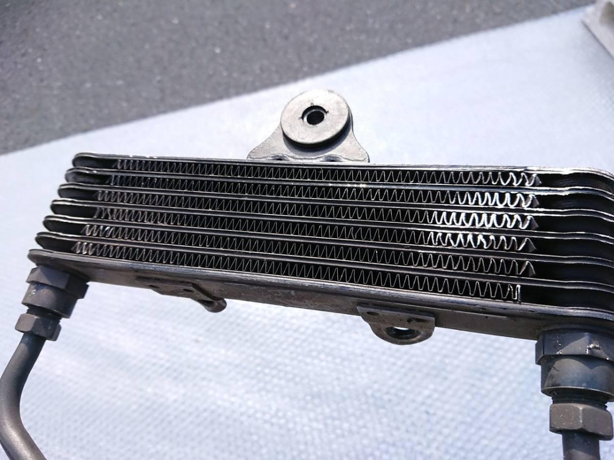 F779 当時物 CBX400F 純正オイルクーラー 実動外し 使える中古/NC07 2型 CBX550F アールズ アクティブ ロックハート _画像5