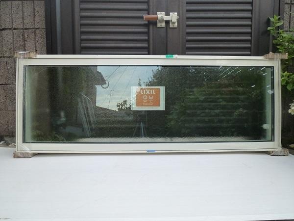 未使用◆リクシル◇サ-モスⅡH高所用横すべり出し窓オペレーター Low-E複層ペアガラス W1640×H570 型
