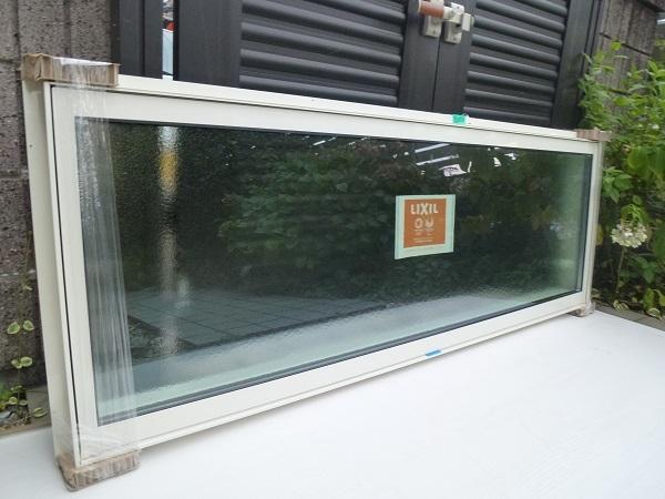 未使用◆リクシル◇サ-モスⅡH高所用横すべり出し窓オペレーター Low-E複層ペアガラス W1640×H570 型_画像2