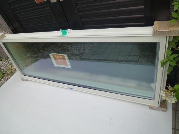 未使用◆リクシル◇サ-モスⅡH高所用横すべり出し窓オペレーター Low-E複層ペアガラス W1640×H570 型_画像3