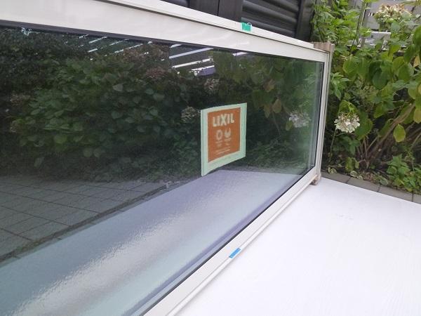 未使用◆リクシル◇サ-モスⅡH高所用横すべり出し窓オペレーター Low-E複層ペアガラス W1640×H570 型_画像10