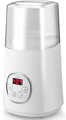 dretec(ドリテック) ヨーグルトメーカー カスピ海・ギリシャヨーグルト 簡単操作 甘酒 低温調理 YM-100WT_画像1