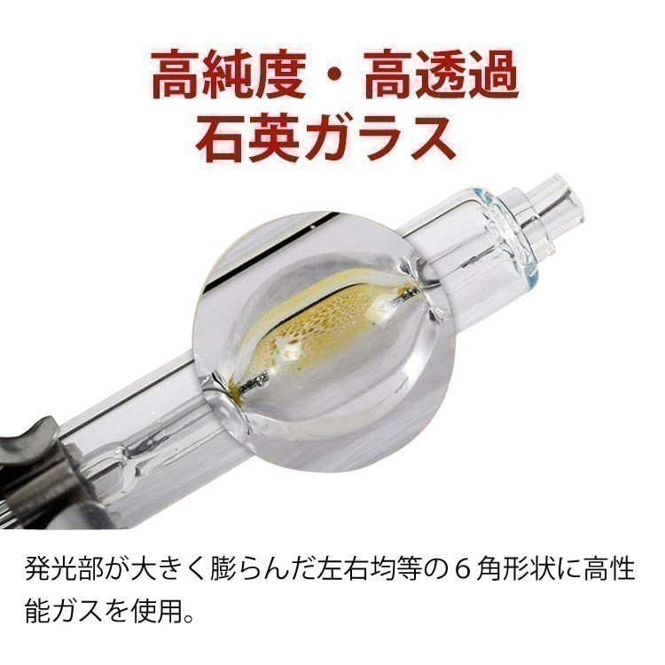 LinksAuto 純正交換 HID バルブ 大光量 AUDI アウディ A3 03.9~04.9 8PA 8PB d2s LED ヘッドライト 爆光 高輝度_画像4