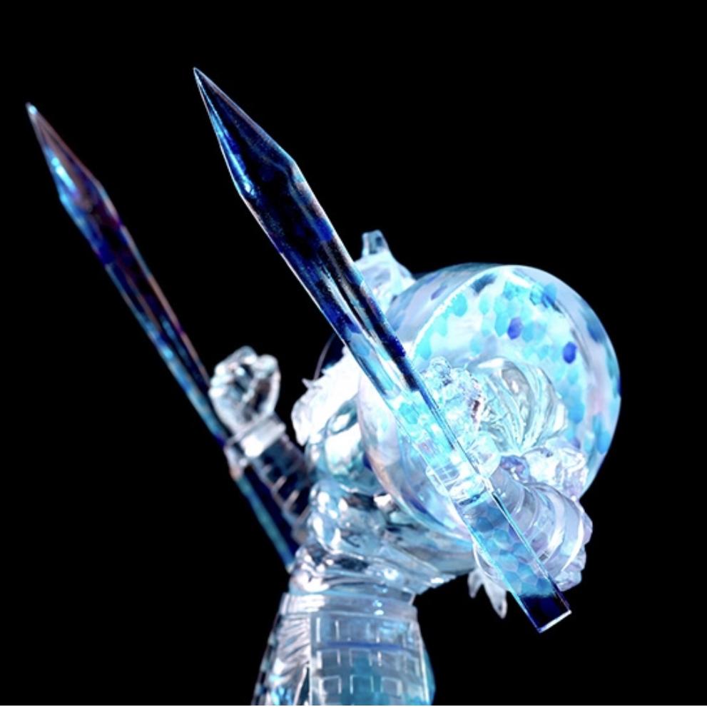 キン肉マンフィギュア スパイスシード spiceseed 悪魔将軍 地獄のメリーゴーランドver LED付き特製台座 新品 未開封品_画像3