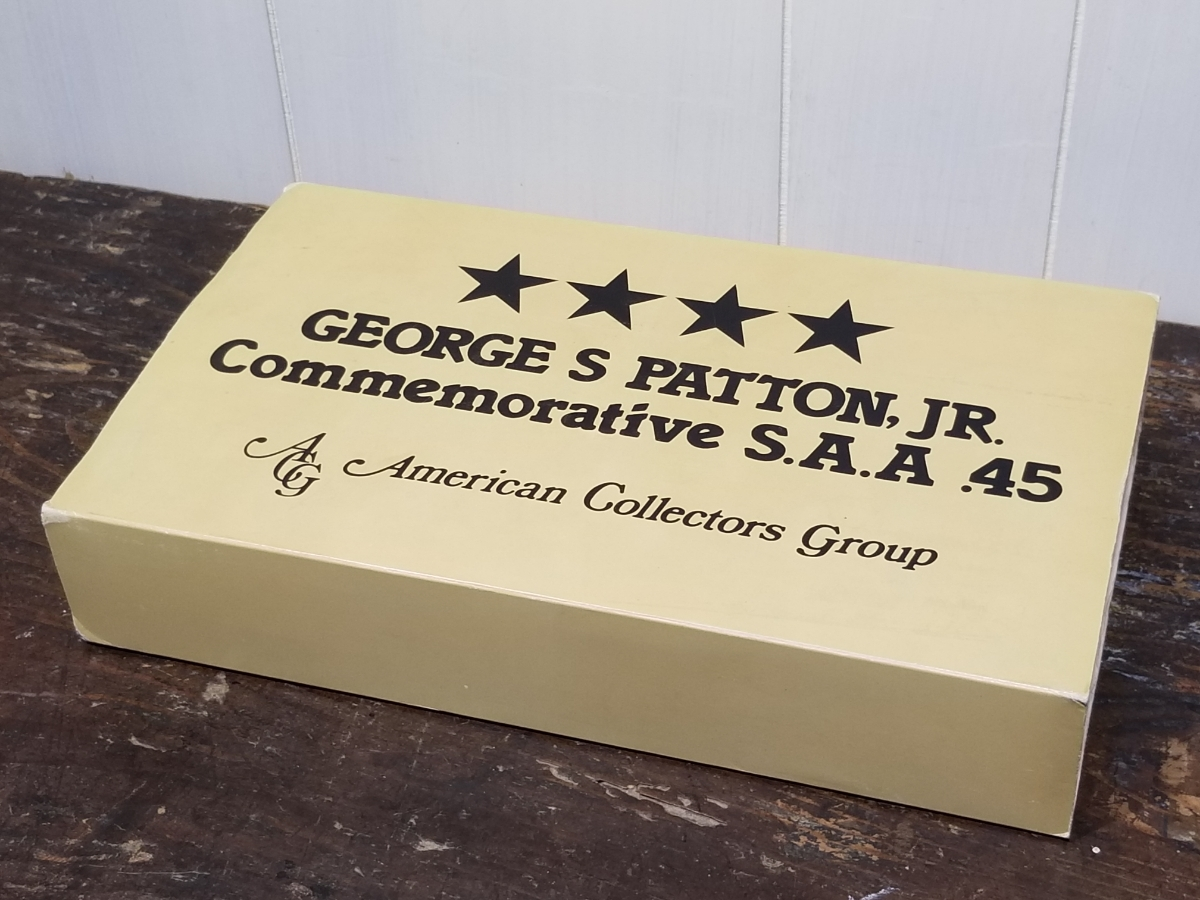 SMG刻印 COLT SAA GEORGES PATTON,JR Commemorative SAA.45 American collectors group _画像3