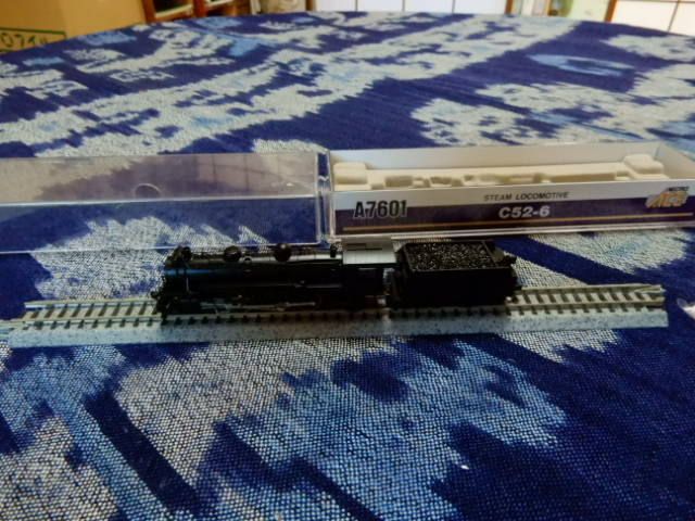 Nゲージ蒸気機関車C52-6  microace A7601
