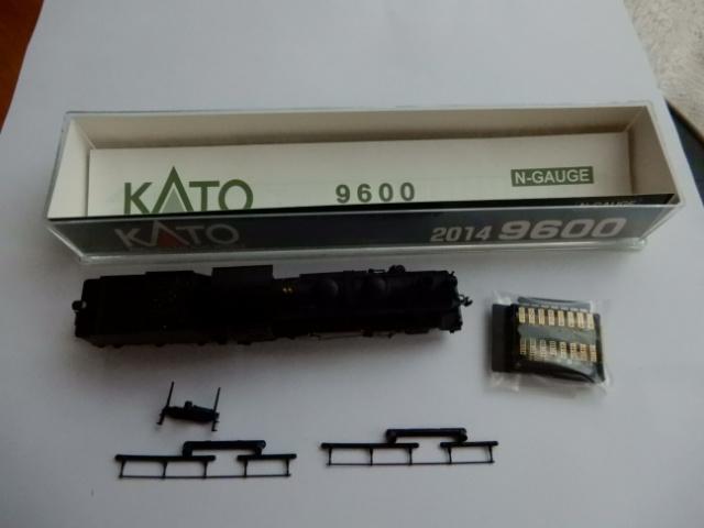 Nゲージ蒸気機関車9600 KATO2014