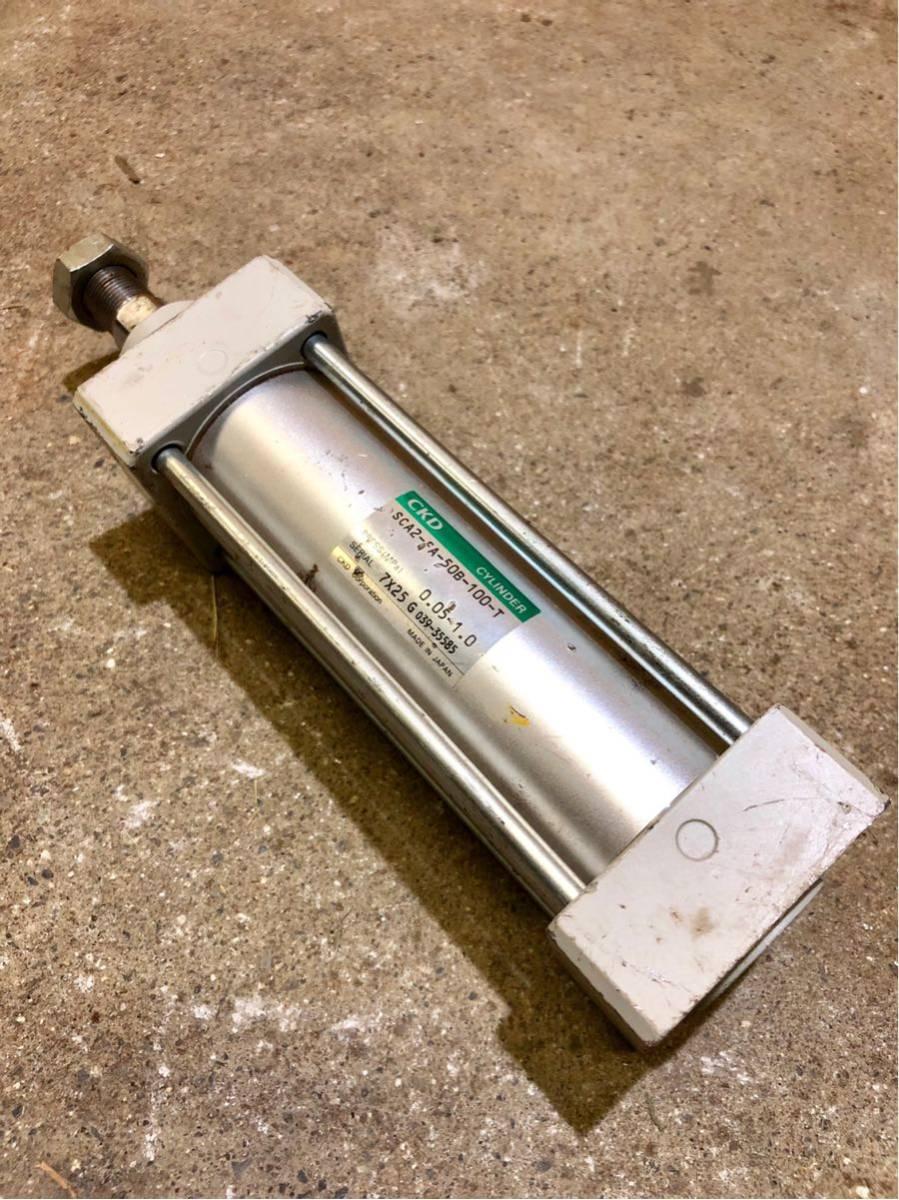 CKD シリンダー SCA2-FA-50B-100-T エアーシリンダー 設備 道具 工具