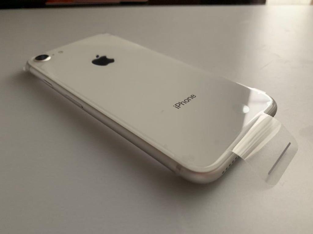 新品 未使用 iphone8 64GB シルバー SoftBank 即日発送可_画像3