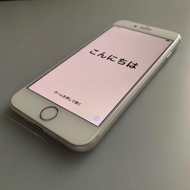 新品 未使用 iphone8 64GB シルバー SoftBank 即日発送可_画像2