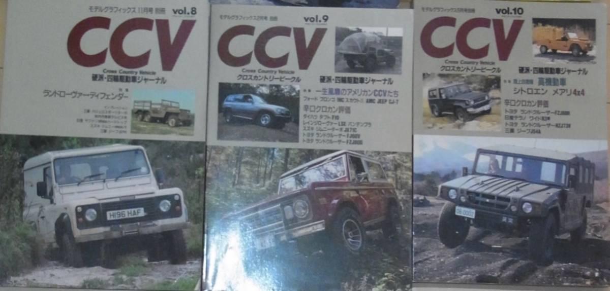送料込み! 超希少本! 最終! CCV(クロスカントリー・ビークル)12冊(1~12) ランクル ジムニー_画像4