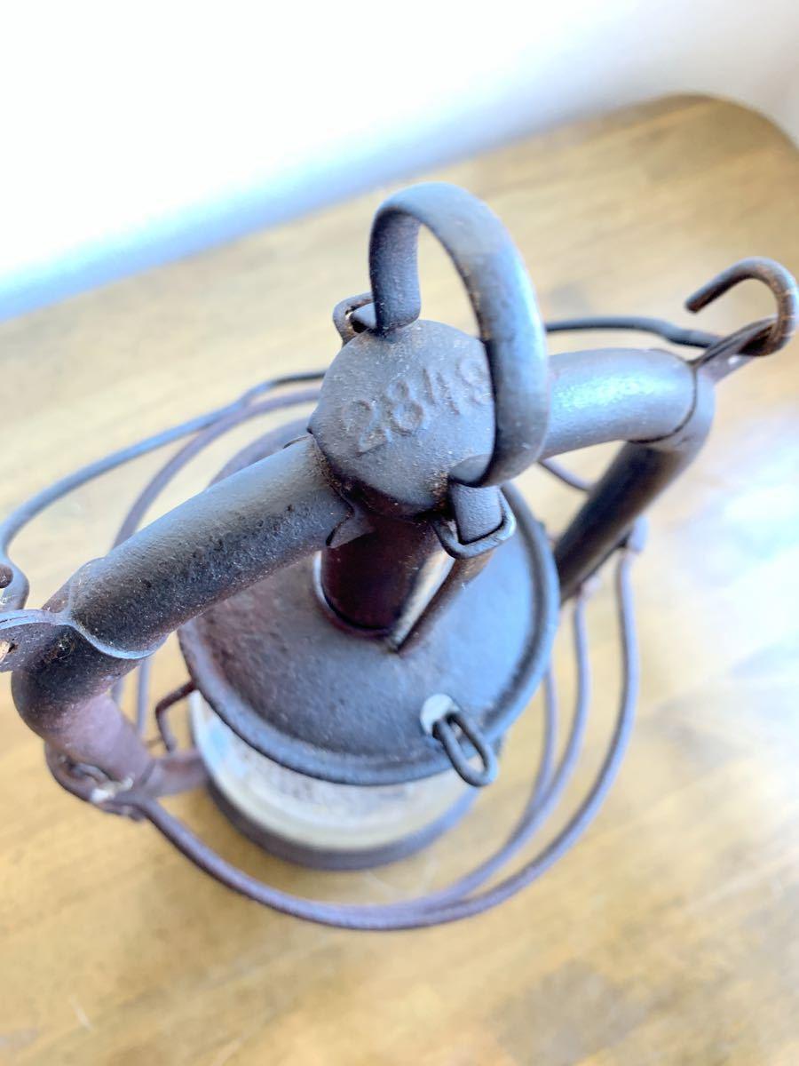 アンティーク 1920~ BAT 2849ドイツ製 実働 整備済 ビンテージ ストーム ランタン レトロ シャビー オイル ランプ ケロシン feuerhand _画像6