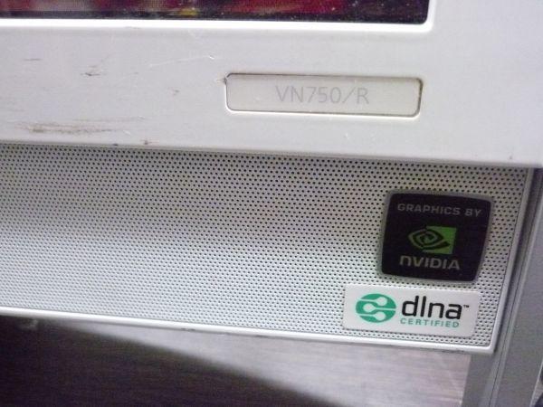 【PC】《A0525》NEC VALUESTAR VN750/RG1JW ★Windows Vista★Intel Core2Duo E7200 2.53Ghz リカバリ済み(120サイズ)_画像5