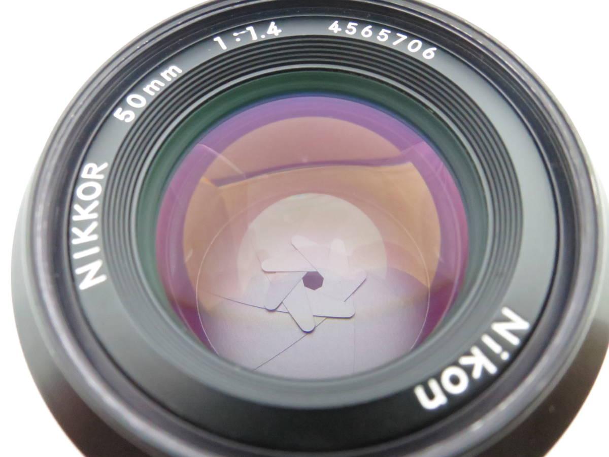 Nikon ニコン NIKKOR 50㎜ f1.4_画像5