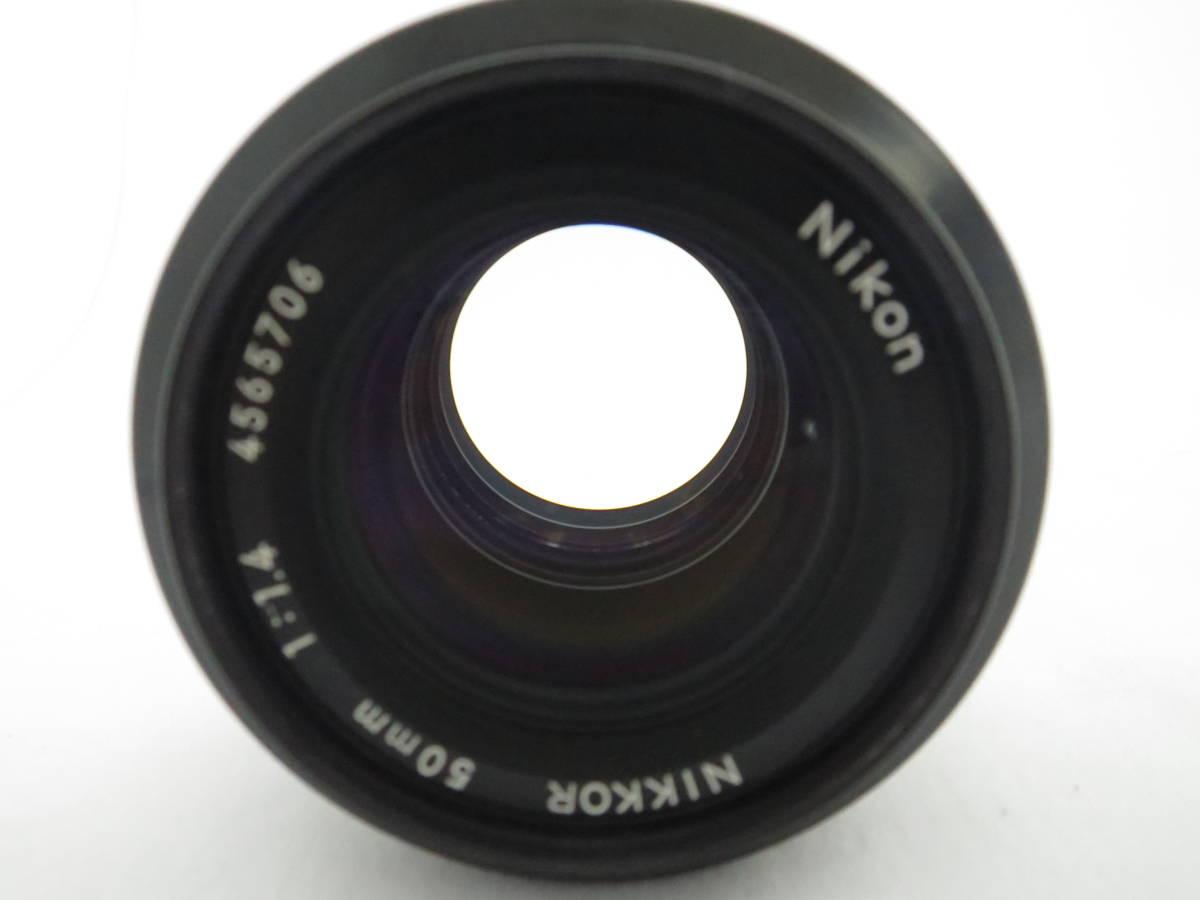 Nikon ニコン NIKKOR 50㎜ f1.4_画像7