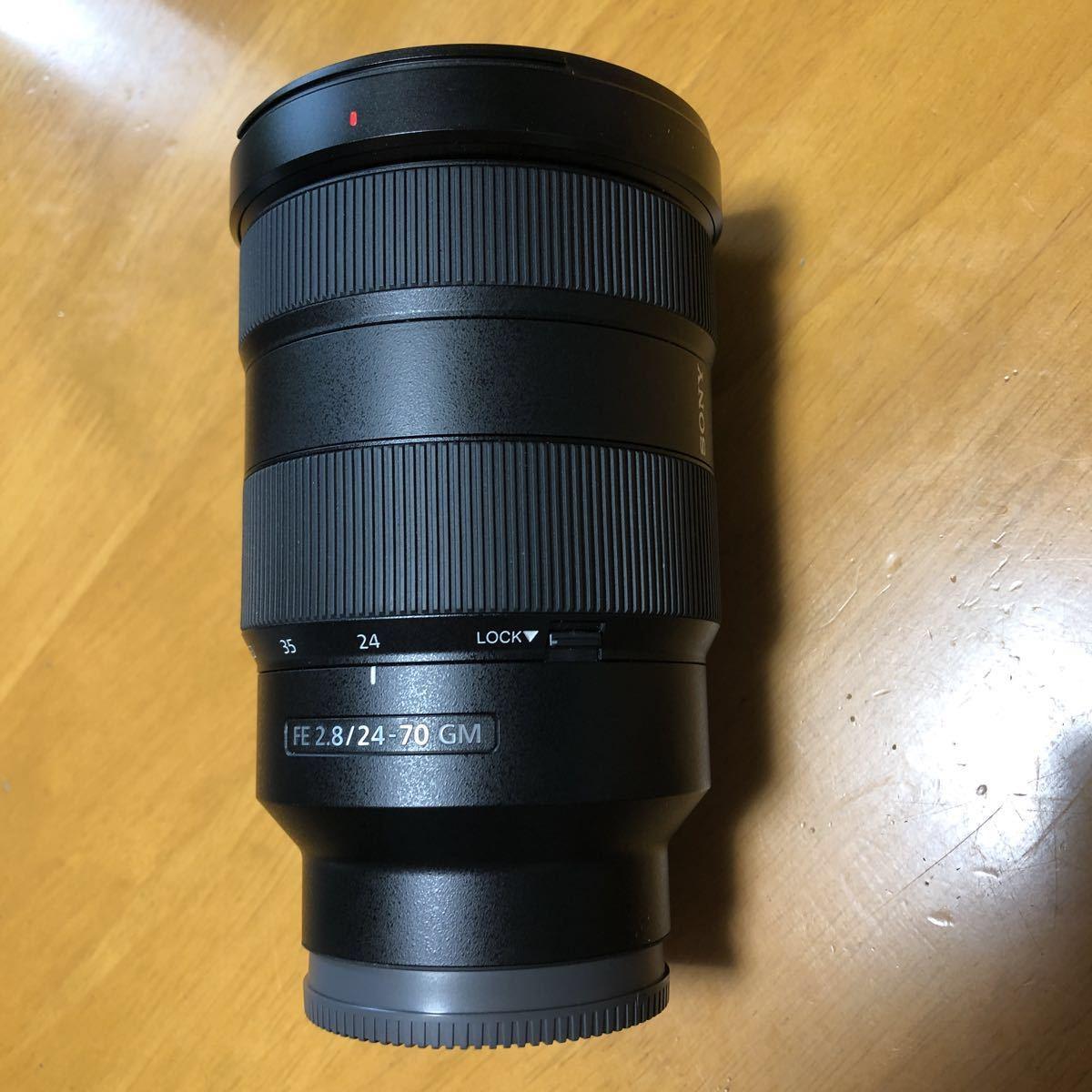 ☆美品☆ SONY SEL2470GM FE 24-70mm F2.8 GM Eマウント レンズフィルターのオマケ付き_画像3