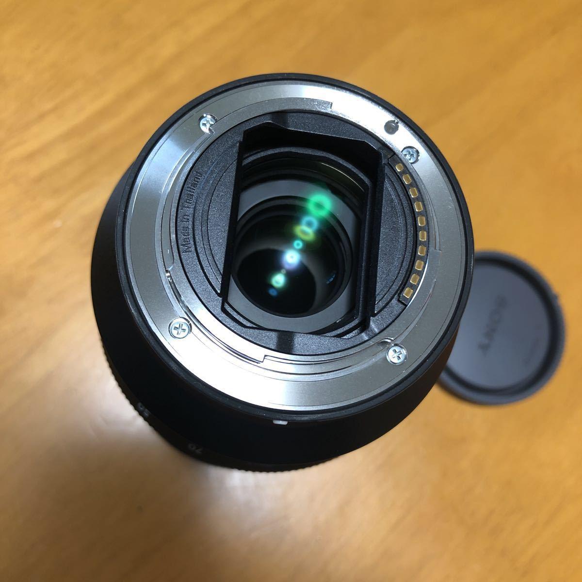 ☆美品☆ SONY SEL2470GM FE 24-70mm F2.8 GM Eマウント レンズフィルターのオマケ付き_画像4