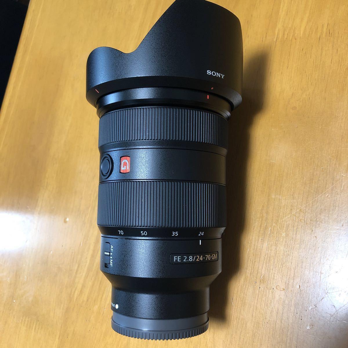 ☆美品☆ SONY SEL2470GM FE 24-70mm F2.8 GM Eマウント レンズフィルターのオマケ付き_画像8
