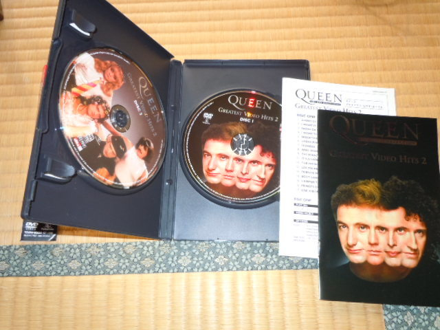 [DVD2枚組]クイーン グレイテスト・ビデオ・ヒッツ2 TOBW92056 2006年発売盤 QUEEN GREATEST VIDEO HITS 2_画像2