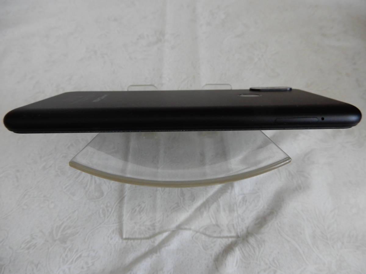 【美中古】umidigi F1 play ブラック Wi-Fi 利用 技適対応済 SIMフリー+おまけ_画像5