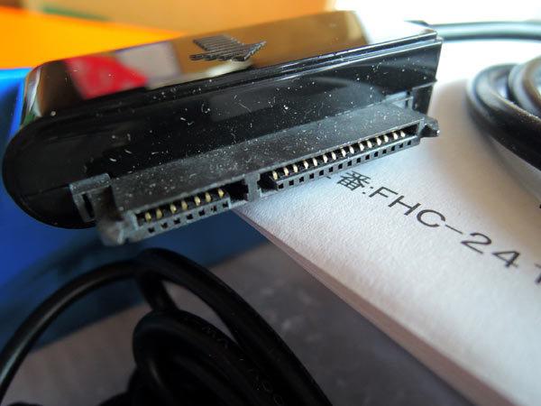 SATA-USB変換ケーブル USB2.0対応 外付接続セット FHC-241 フリーダム FREEDOM_画像5