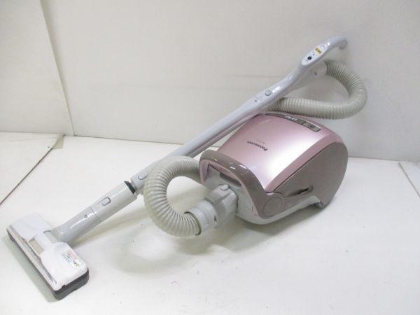 ○Panasonic/パナソニック 紙パック式掃除機 MC-PA15J-P 17年製 B-8143○