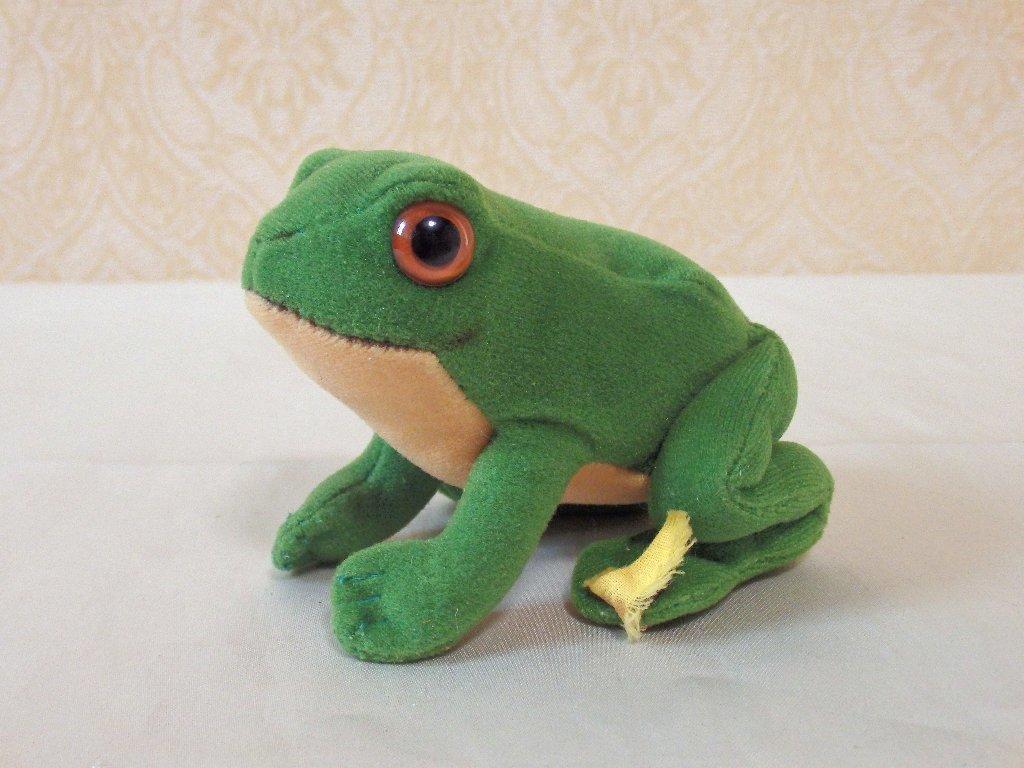 steiffシュタイフ/ ビンテージ・カエルのフロッギー / 7cm