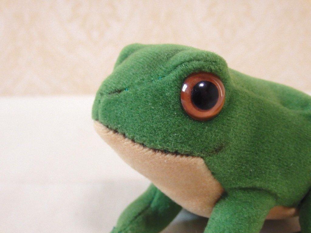 steiffシュタイフ/ ビンテージ・カエルのフロッギー / 7cm_画像2