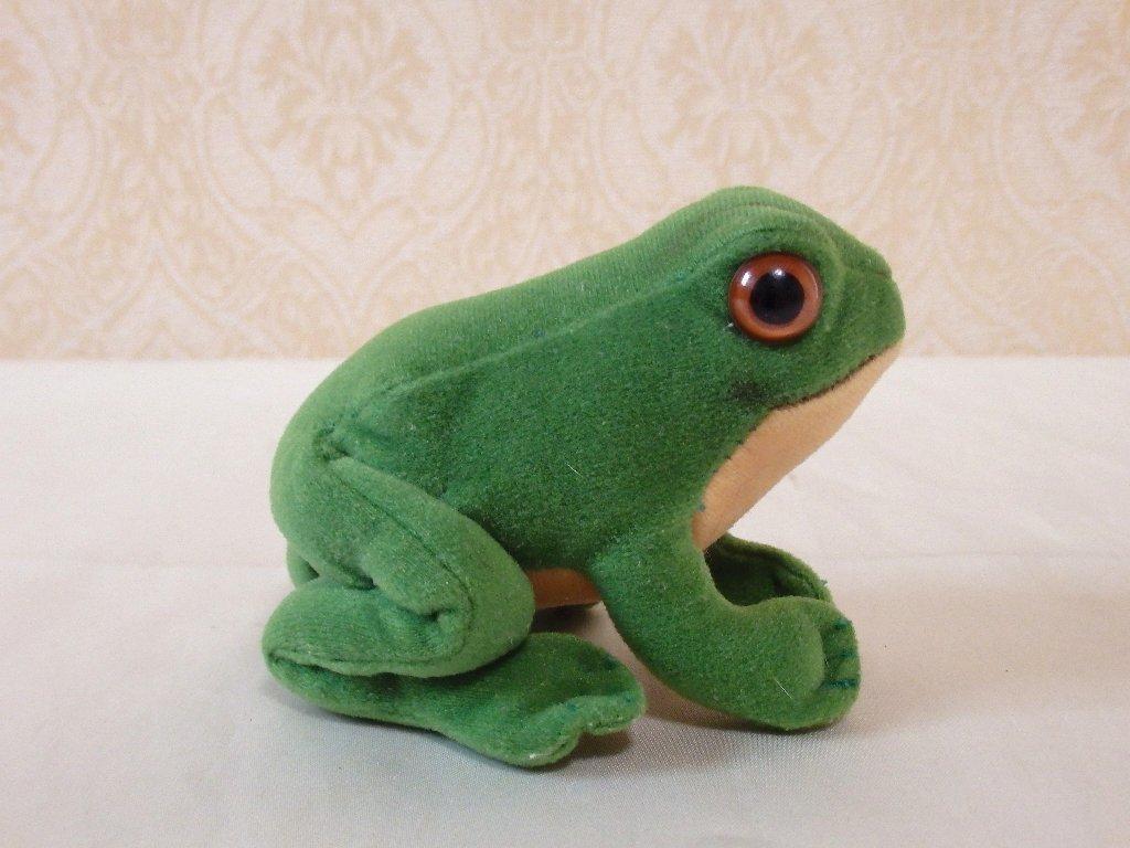 steiffシュタイフ/ ビンテージ・カエルのフロッギー / 7cm_画像7