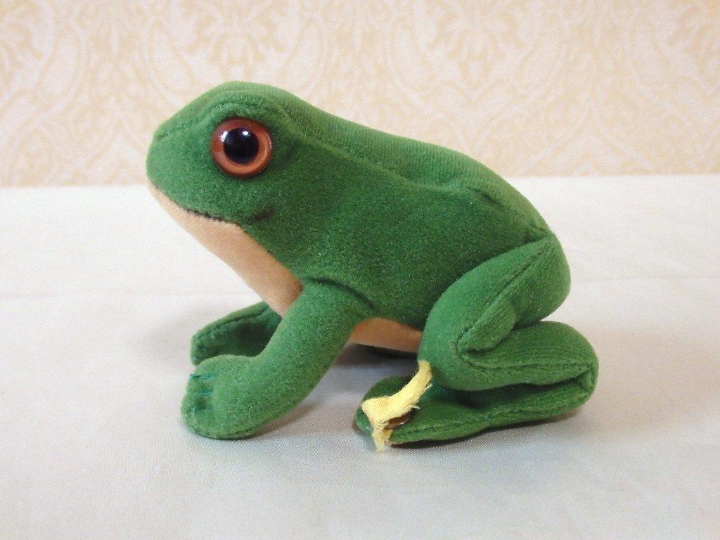 steiffシュタイフ/ ビンテージ・カエルのフロッギー / 7cm_画像6