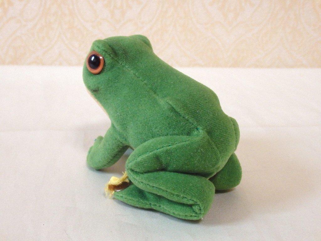 steiffシュタイフ/ ビンテージ・カエルのフロッギー / 7cm_画像8